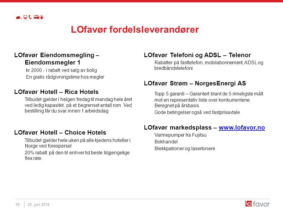 LOfavør Eiendomsmegling – Eiendomsmegler 1 kr 2000.- i rabatt ved salg av bolig En gratis rådgivningstime hos megler LOfavør Hotell – Rica Hotels Tilb