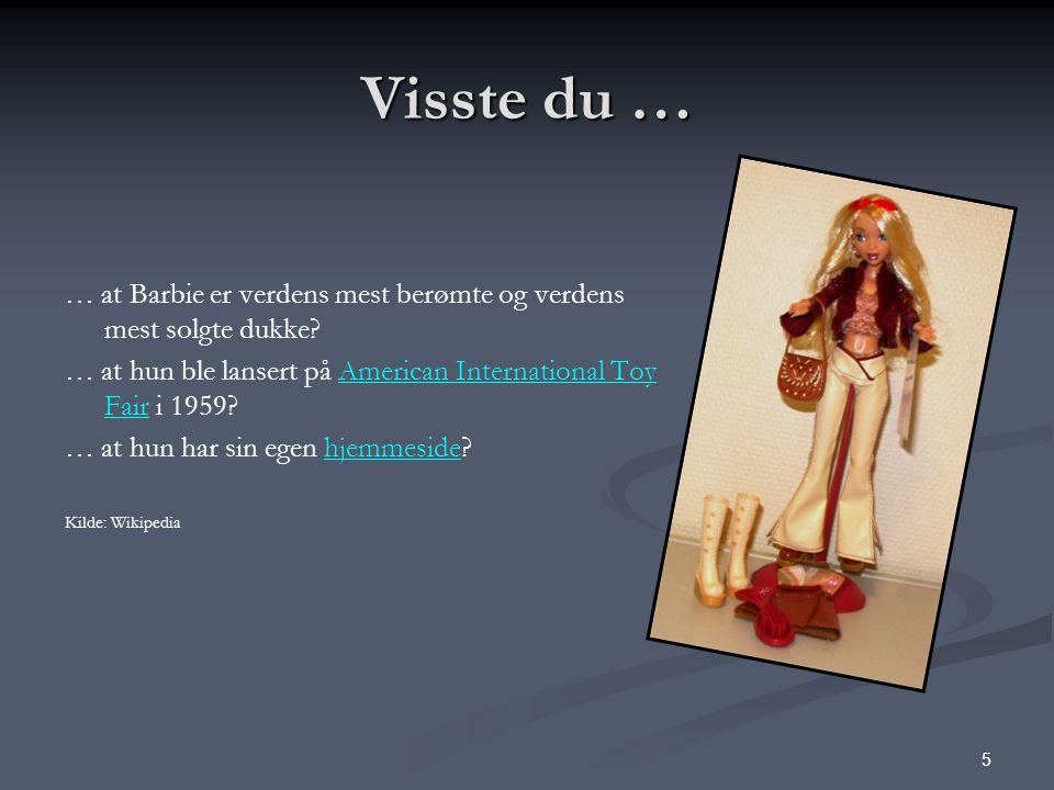 6 Visste du … … at det finnes ei offentlig norsk utredning som heter Oppvekst med prislapp? ?Oppvekst med prislapp.