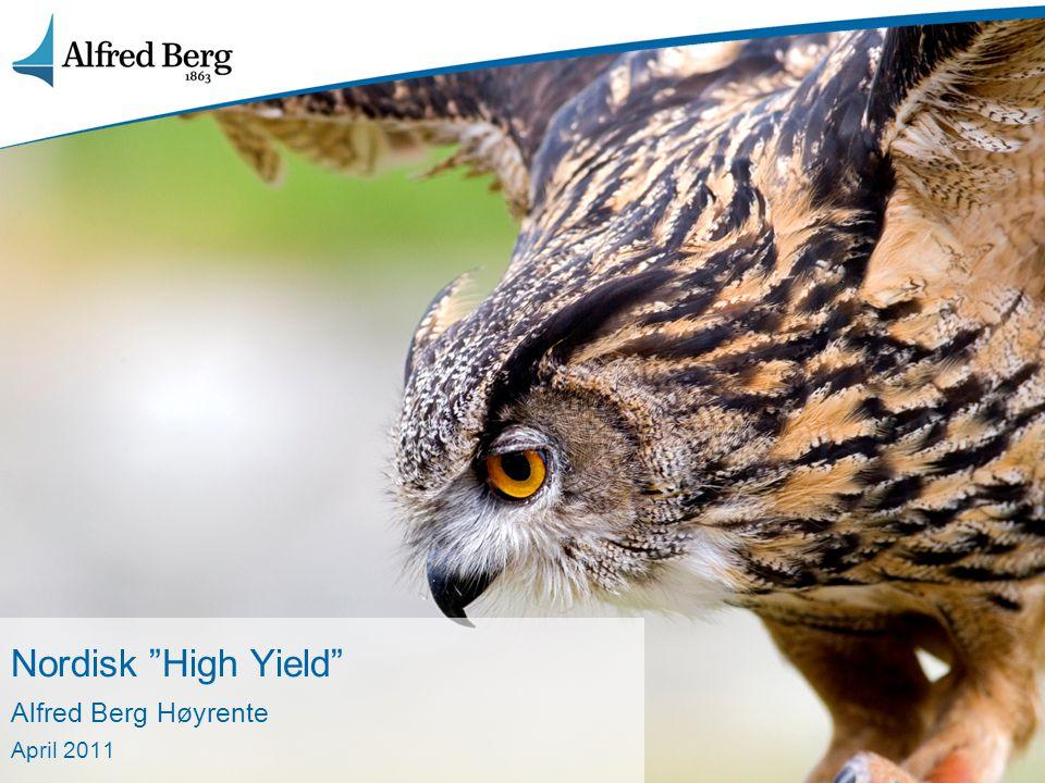 2 Agenda – Alfred Berg Høyrente 1.Kort om oss 2.Hvorfor kjøpe Høyrente nå.