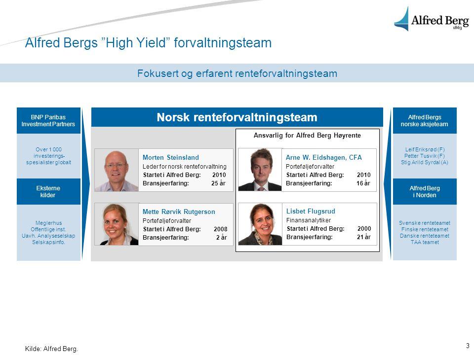 24 Porteføljeoversikt Per 31.januar 2011 Kilde: Alfred Berg per 31.