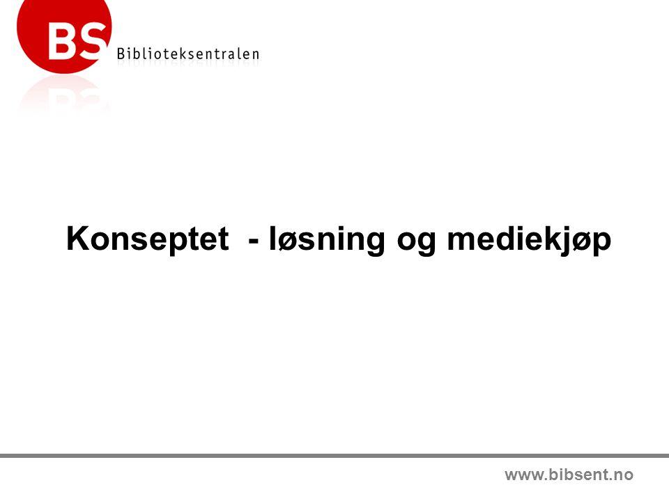 www.bibsent.no Konseptet - løsning og mediekjøp