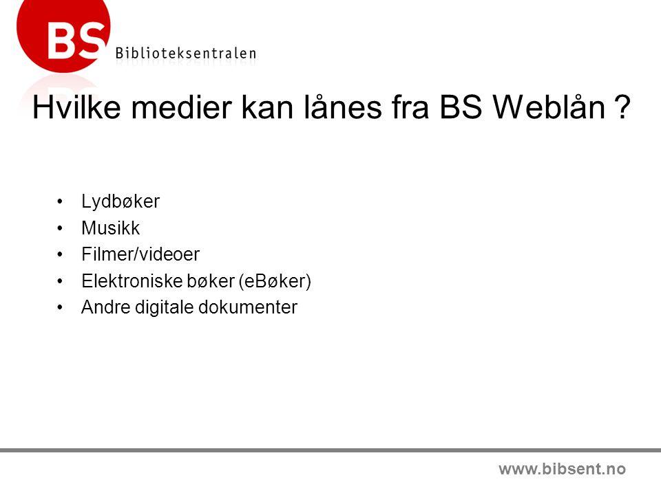 www.bibsent.no Bibliotek i endring •Bibliotekene opplever store forventinger fra brukerne.