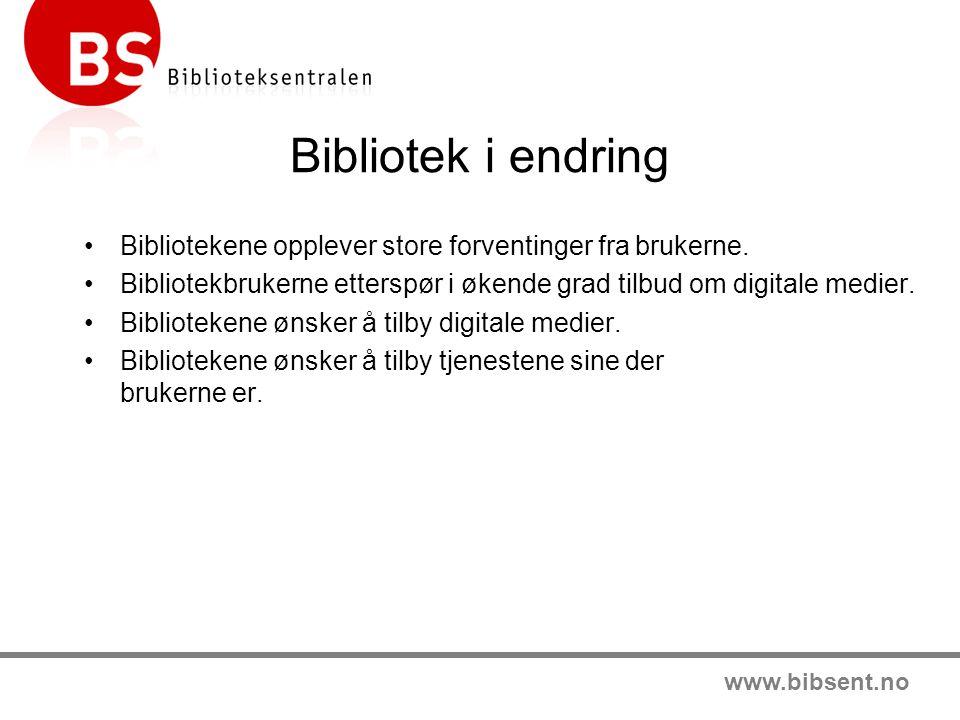 www.bibsent.no Fordeler med BS Weblån