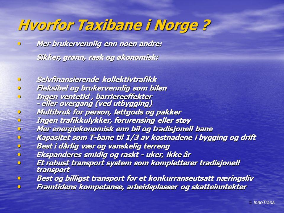 Transport-logikk i Taxibane • 1.