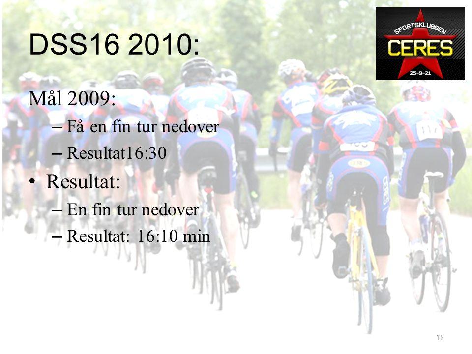 Kassestopp Ringebu DSS16 2010 17