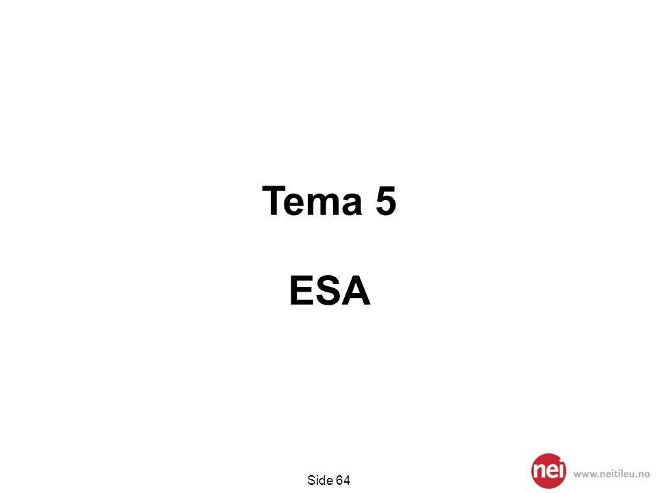 Side 64 Tema 5 ESA
