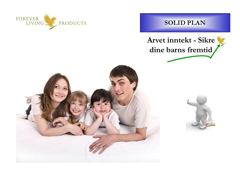 SOLID PLAN Arvet inntekt - Sikre dine barns fremtid