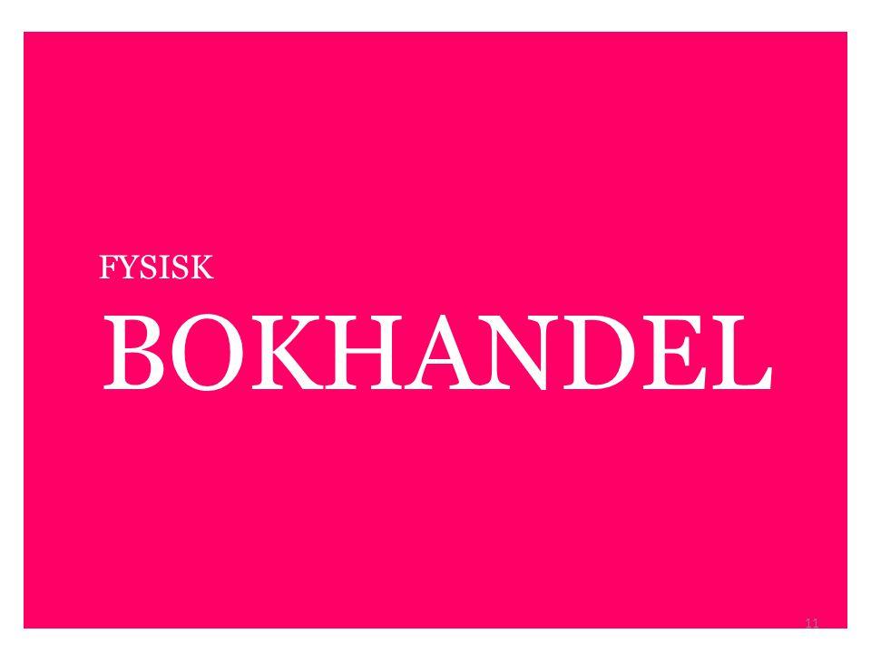 FYSISK BOKHANDEL 11