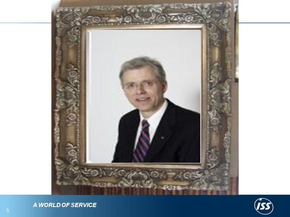 A WORLD OF SERVICE 5 Hva ser du i speilet? Deg selv! Fint. Hvordan Fremstår Du som leder?.