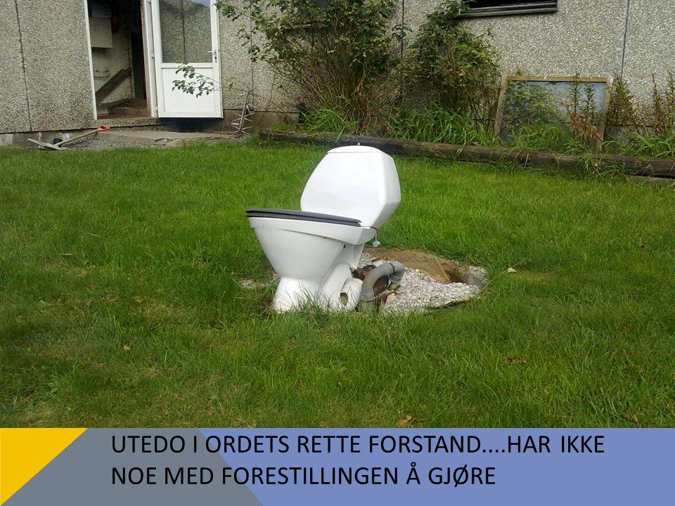 UTEDO I ORDETS RETTE FORSTAND....HAR IKKE NOE MED FORESTILLINGEN Å GJØRE