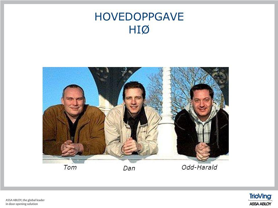 Tom HOVEDOPPGAVE HIØ Dan Odd-Harald