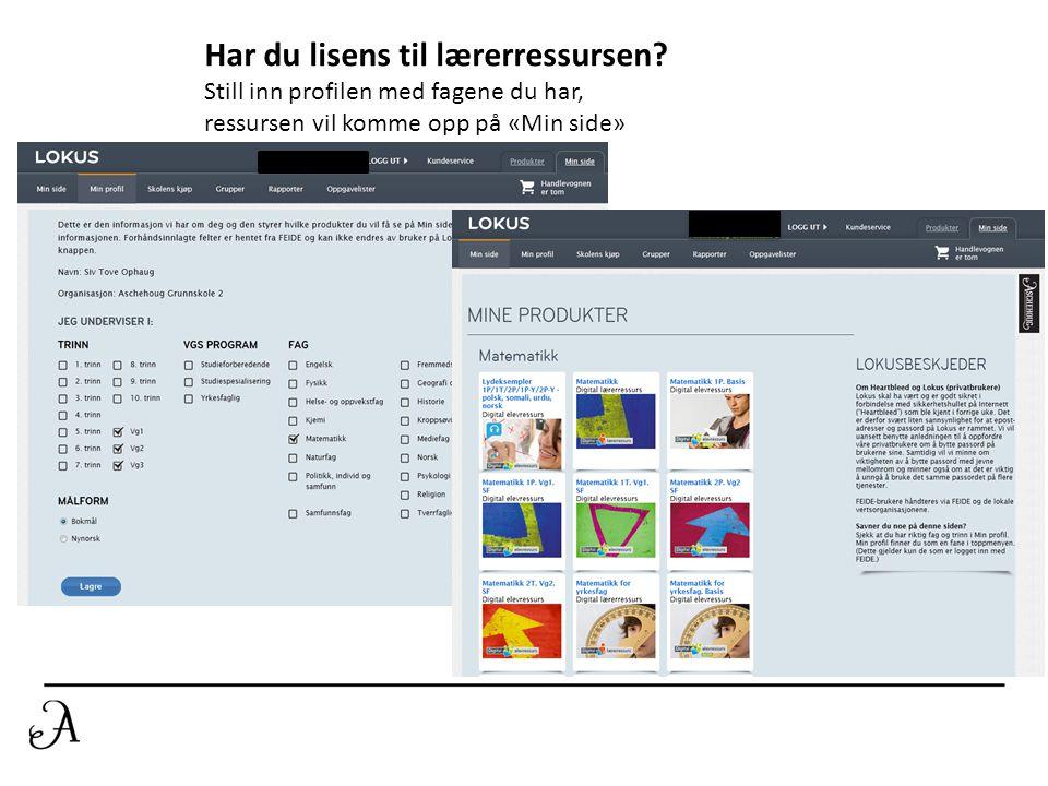 Beriket lærebok Du kan gå rett til en side i boka. Zoome inn der du vil ha fokus Benytte notat verktøy Mediearkiv med bl.a undervisningsfilmer fra TWI