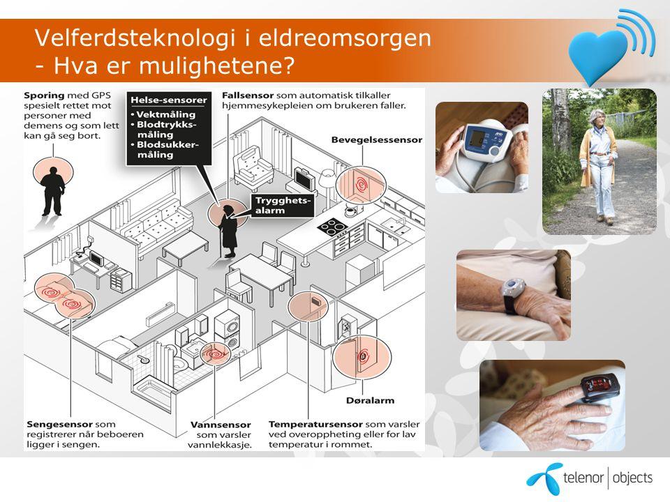 Velferdsteknologi i eldreomsorgen - Hva er mulighetene?