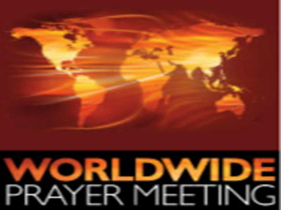 FAs Internasjonale Bønnemøte Rop på meg, så vil jeg svare deg 25 …Herre, la det lykkes.