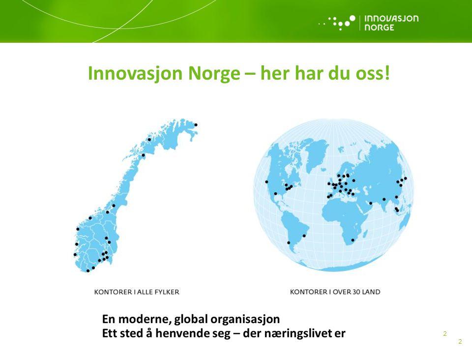 2 2 Innovasjon Norge – her har du oss!