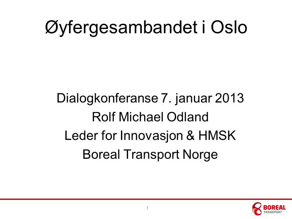 Øyfergesambandet i Oslo Dialogkonferanse 7.
