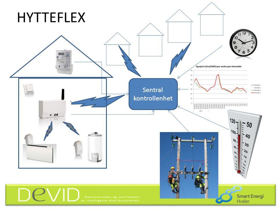 HYTTEFLEX Sentral kontrollenhet