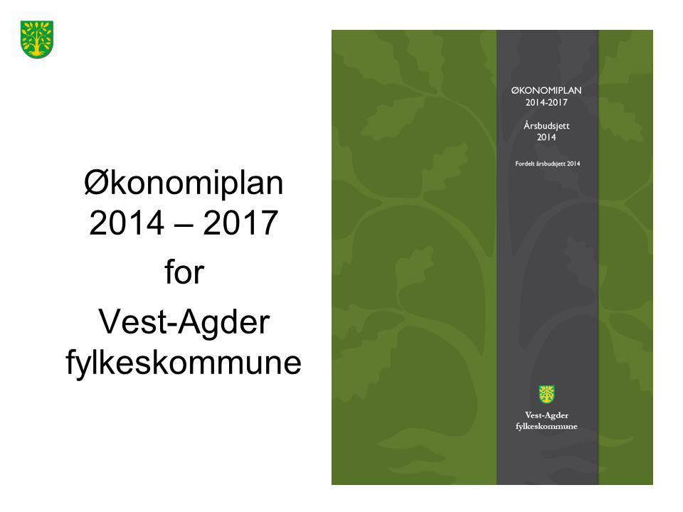 Økonomiplan 2014 – 2017 for Vest-Agder fylkeskommune
