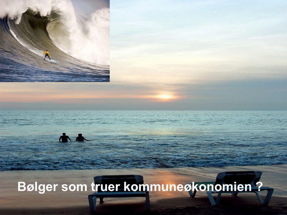 Bølger som truer kommuneøkonomien ?