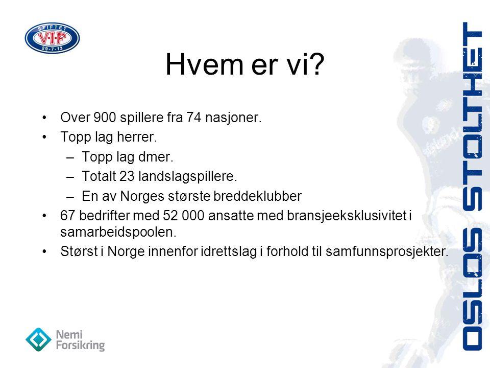 Årets Sponsorobjekt 2011 Vålerenga Fotball har skjønt at de lever av å bygge og forvalte merkevare for sine samarbeidspartnere.