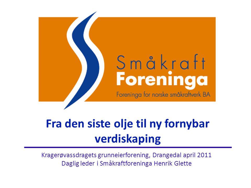 Grønne sertifikater forts.• Sertifikatperioden er 15 år (fra 2012).