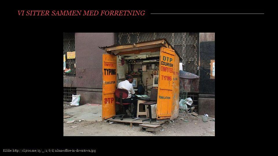 VI SITTER SAMMEN MED FORRETNING Kilde: http://cl.jroo.me/z3/_/2/6/d/a.baa-office-in-downtown.jpg