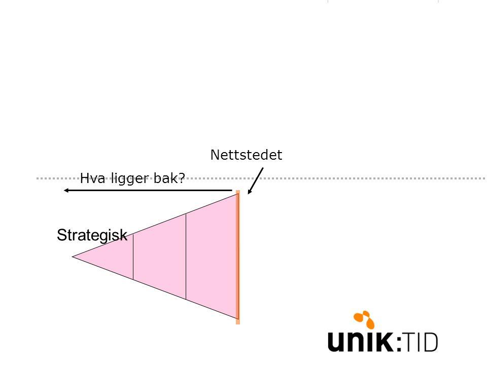 Strategisk Nettstedet Hva ligger bak?