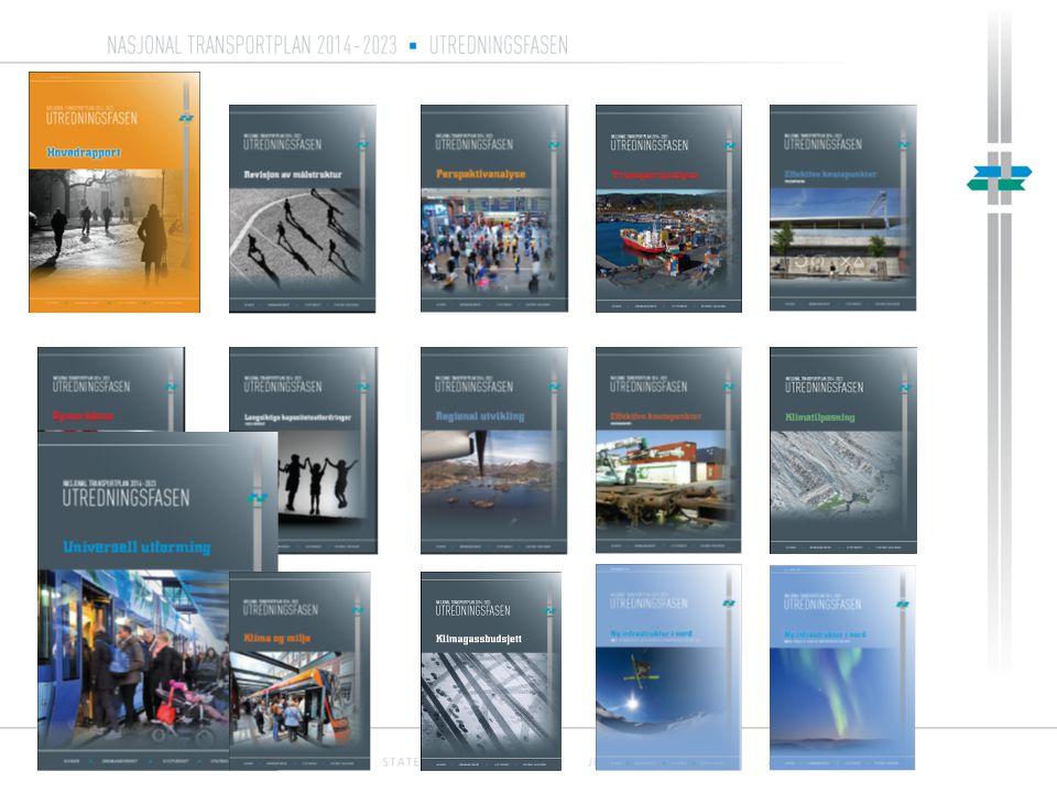 Nasjonal transportplan 2014 - 2023 Sektorvise stamnettutredninger Pressekonferanse Oslo 7.