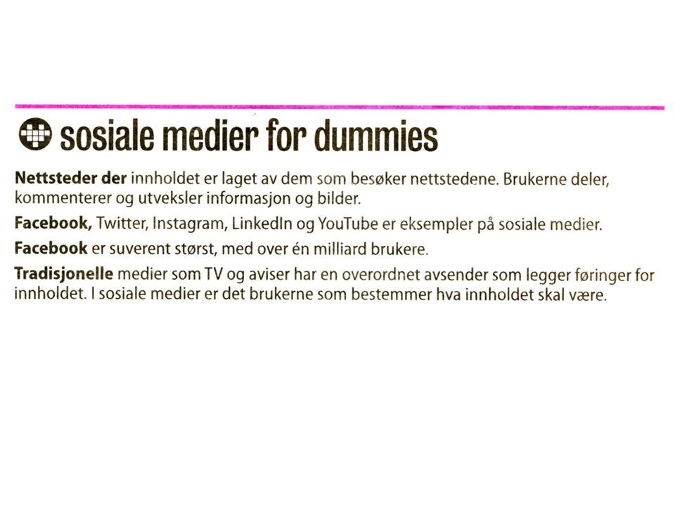's bruk av Sosiale medier Følg oss på Facebook Her kan du diskutere utvalgte innlegg og kronikker, og komme med innspill til Aftenpostens debattredaksjon.