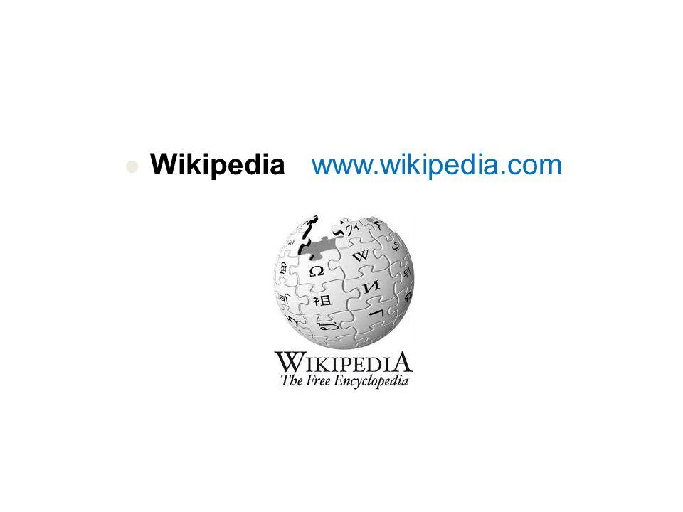 Wikipedia er et nettleksikon  Skrives i utgangspunktet på engelsk, men har nå over 200 språkversjoner, blant dem bokmål, nynorsk og samisk.