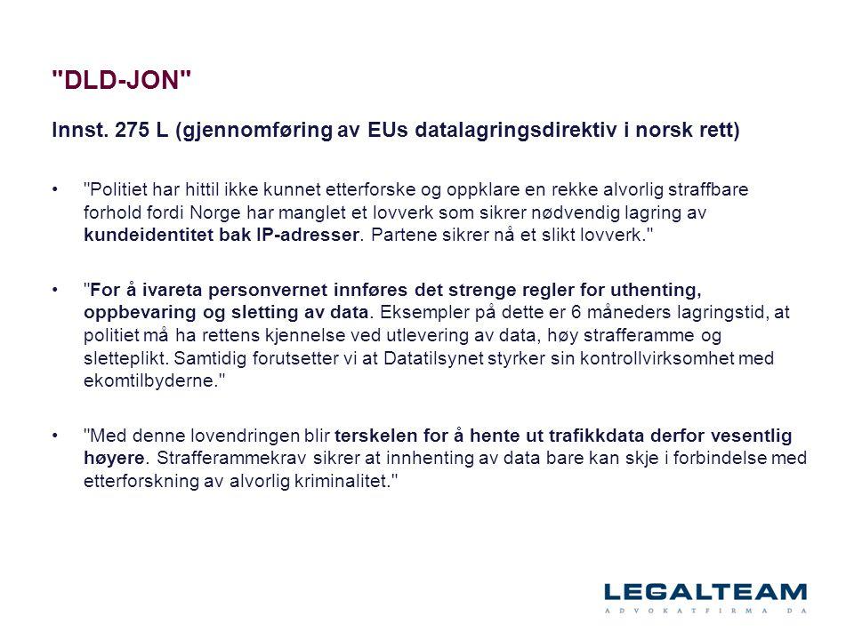 DLD-JON Innst.