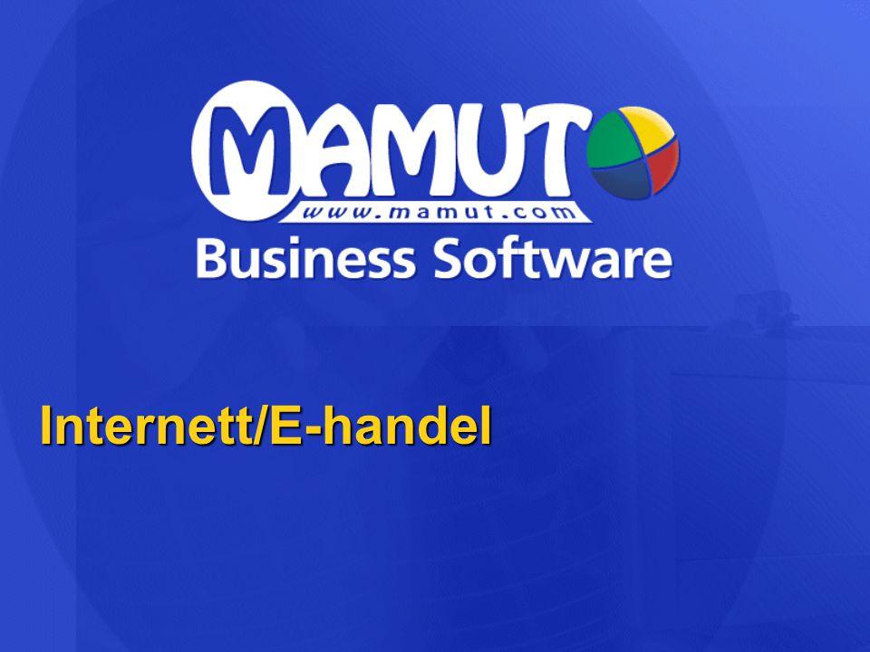 Internett/E-handel