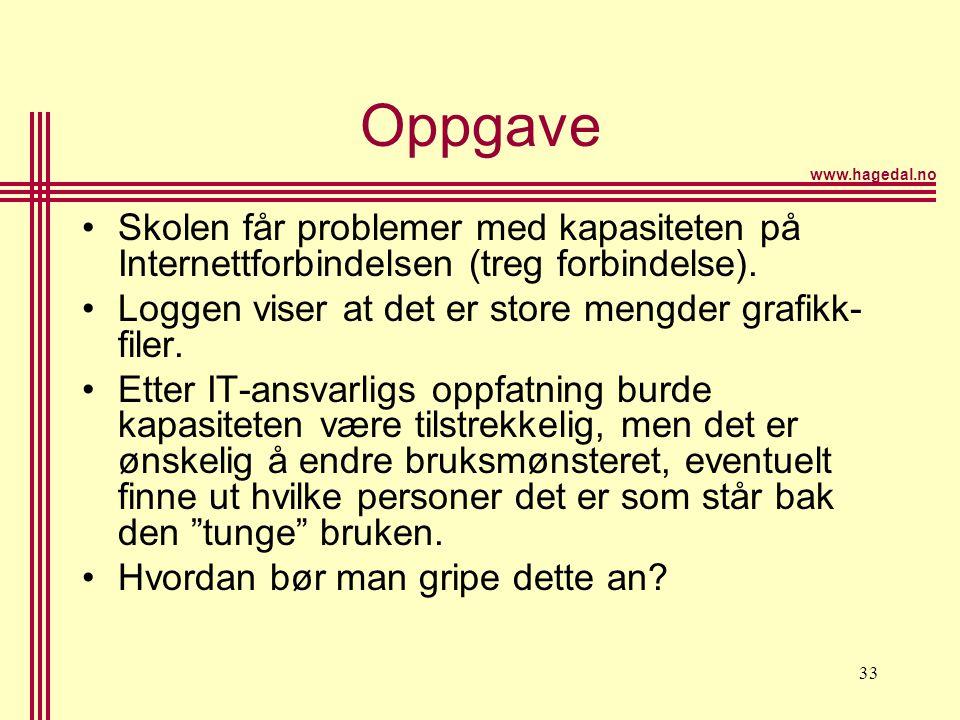 www.hagedal.no 34 Nettvettregler •Redd Barna •Kulturdepartementet •Din side