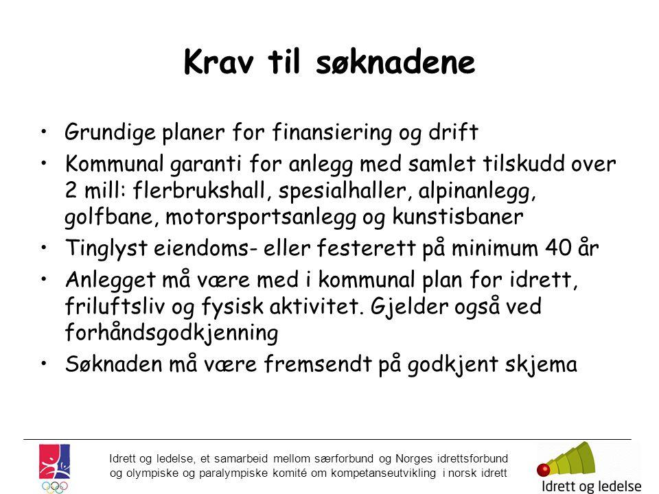 Idrett og ledelse, et samarbeid mellom særforbund og Norges idrettsforbund og olympiske og paralympiske komité om kompetanseutvikling i norsk idrett K