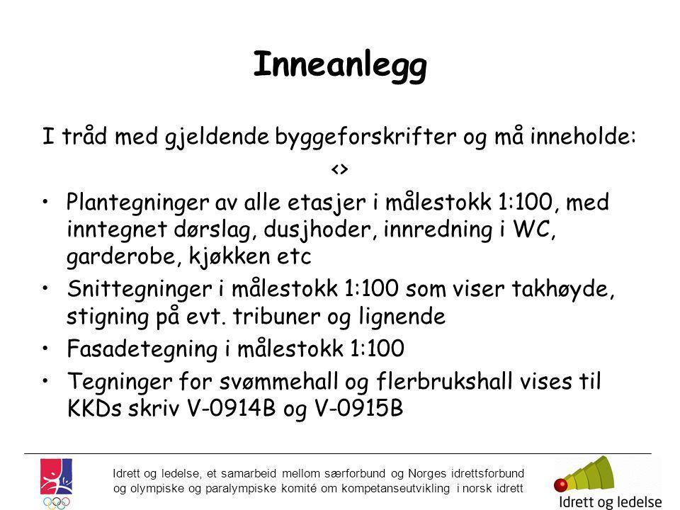 Idrett og ledelse, et samarbeid mellom særforbund og Norges idrettsforbund og olympiske og paralympiske komité om kompetanseutvikling i norsk idrett I