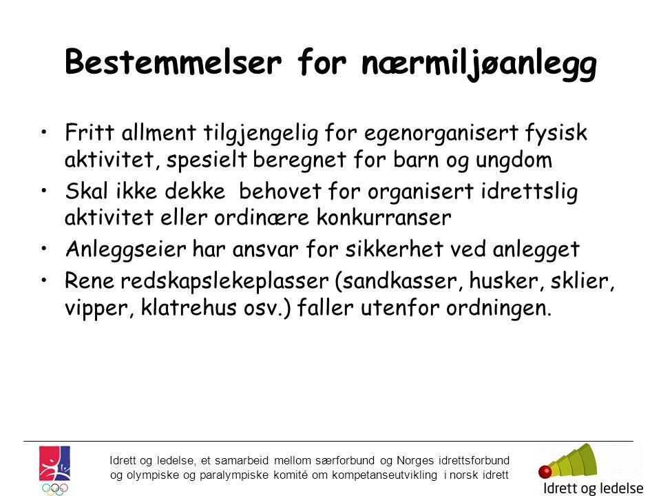Idrett og ledelse, et samarbeid mellom særforbund og Norges idrettsforbund og olympiske og paralympiske komité om kompetanseutvikling i norsk idrett B