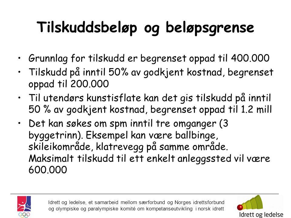 Idrett og ledelse, et samarbeid mellom særforbund og Norges idrettsforbund og olympiske og paralympiske komité om kompetanseutvikling i norsk idrett T