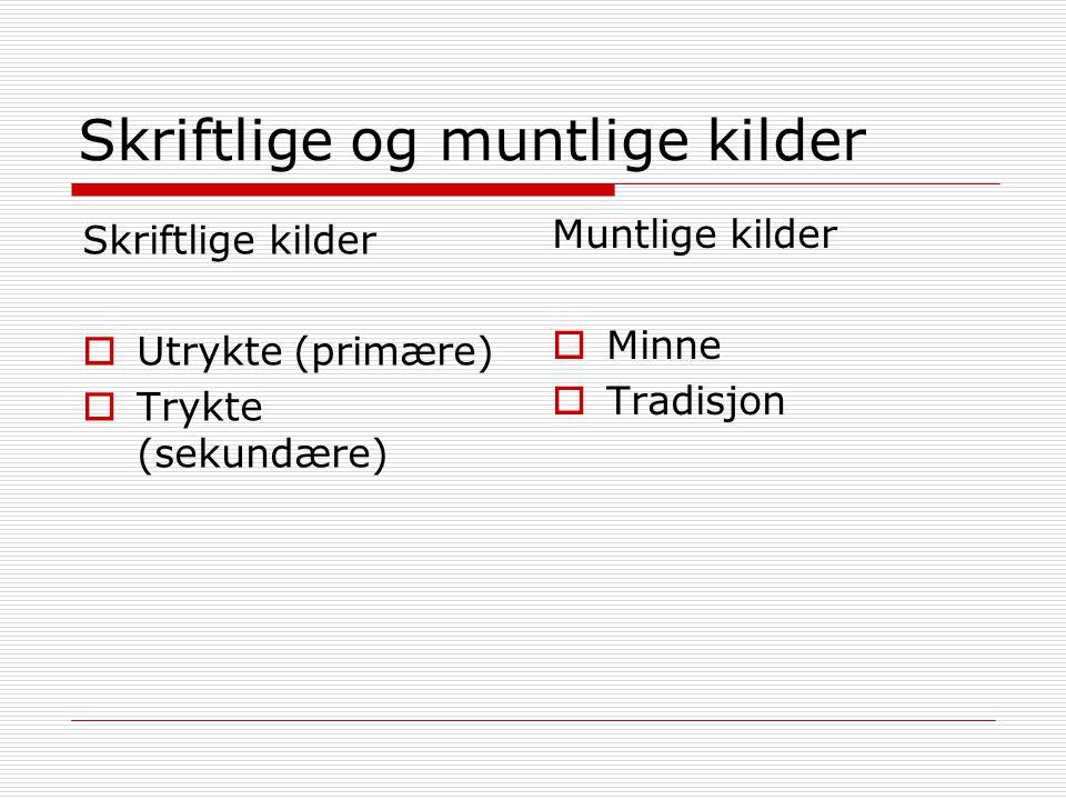 HEURISTIKK (finnekunst) Hvor finner vi kildene: -Bibliotekene -Arkivene -Museene -Internett (www) Og hvordan er de tilgjengeliggjort - Ordningsprinsipper – for eksempel emneportaler for å navigere unna støy på nettet.