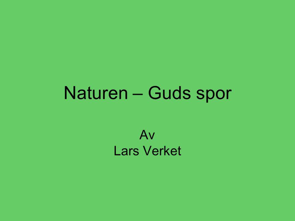 Naturen – Guds spor Av Lars Verket