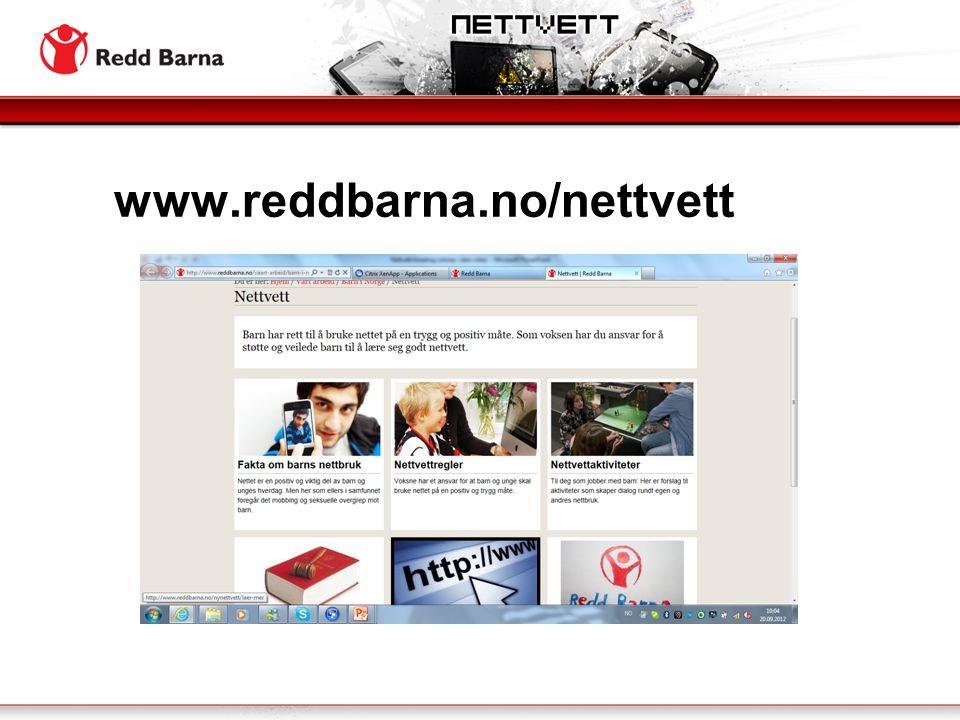 www.reddbarna.no/nettvett