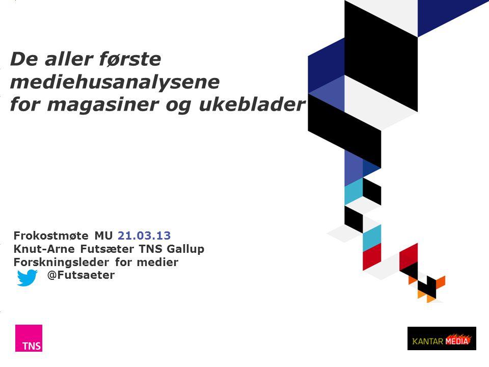 http://www.tns-gallup.no/medier @Futsaeter