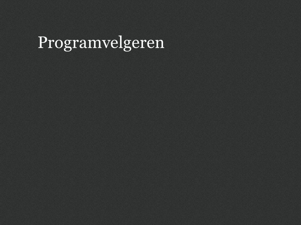 Programvelgeren