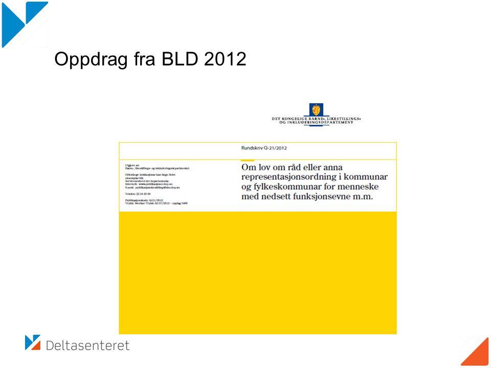 Oppdrag fra BLD 2012