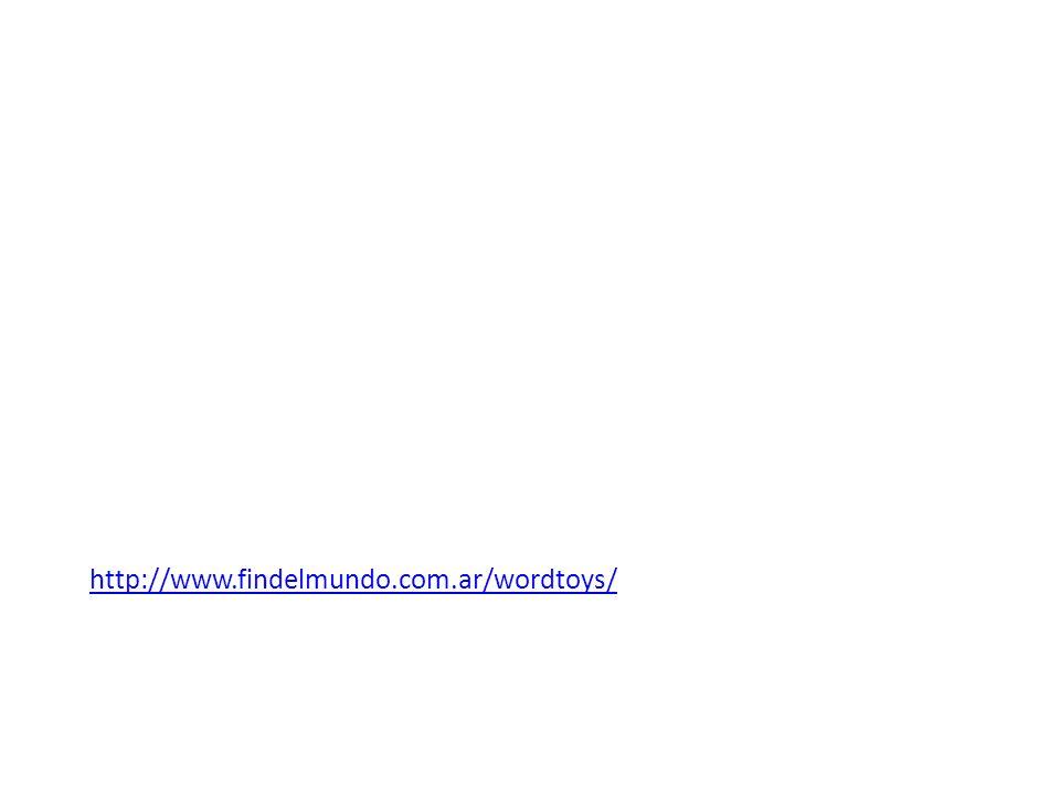 http://www.findelmundo.com.ar/wordtoys/