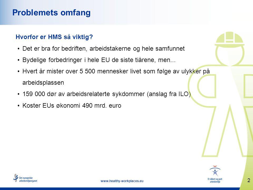 13 www.healthy-workplaces.eu Slik engasjerer du deg Kampanjen er åpen for alle privatpersoner og organisasjoner.
