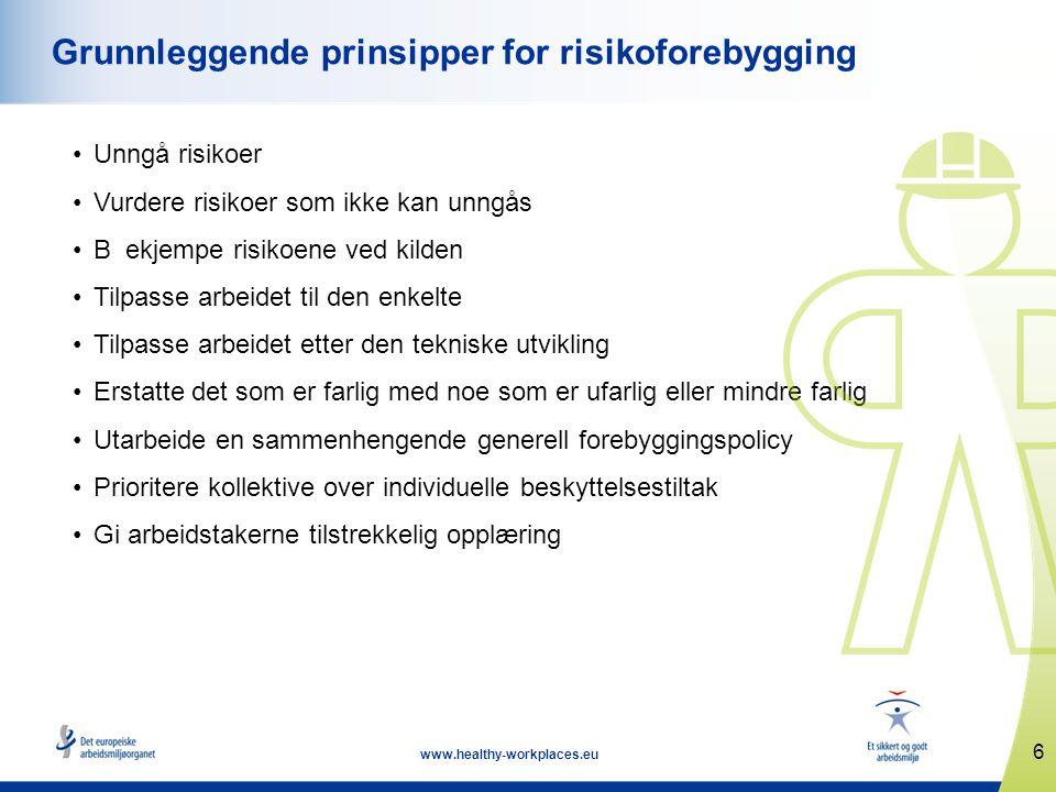 17 www.healthy-workplaces.eu Viktige datoer •Kampanjestart: 18.