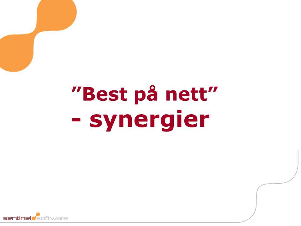 """""""Best på nett"""" - synergier"""