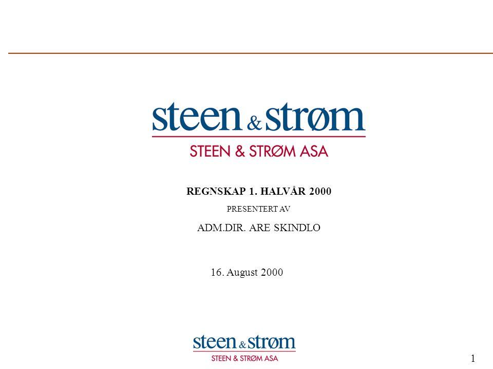 2 Strategi Utvikling og drift av kjøpesentre er Steen & Strøm's kjernevirksomhet og viktigste satsningsområde.