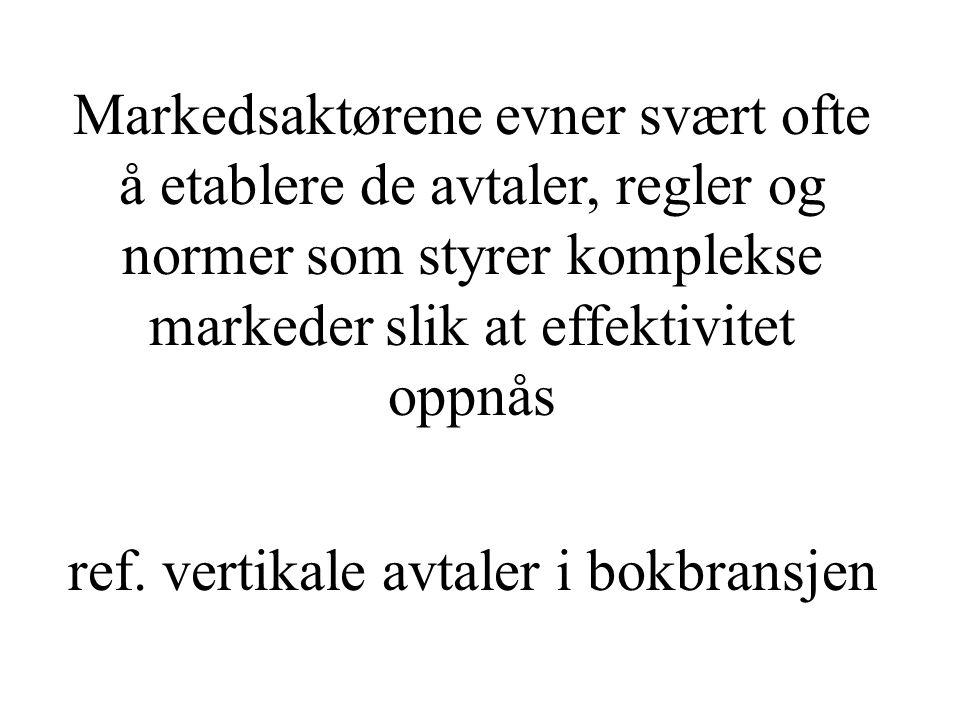 Tranøy: Markedets makt over sinnene ….bør komme: Moen og Riis: Sinnenes makt over markedet