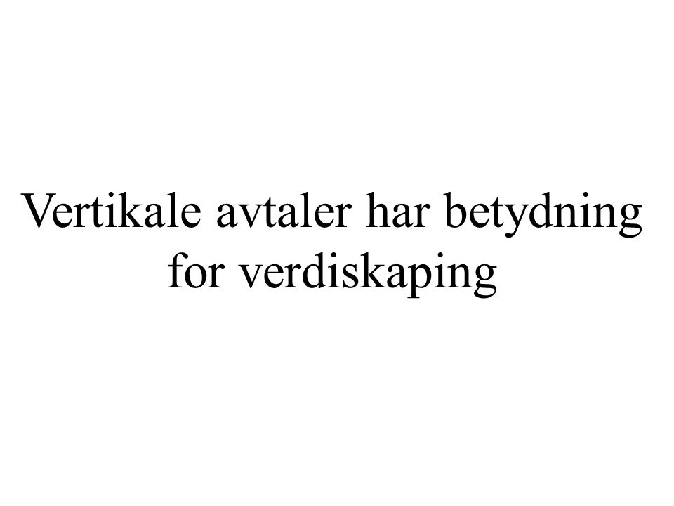 og forklar det for danskene